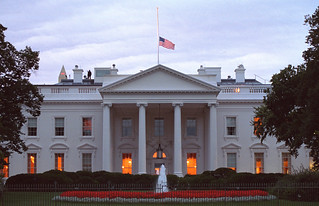 911: White House Grounds, 09/14/2001.