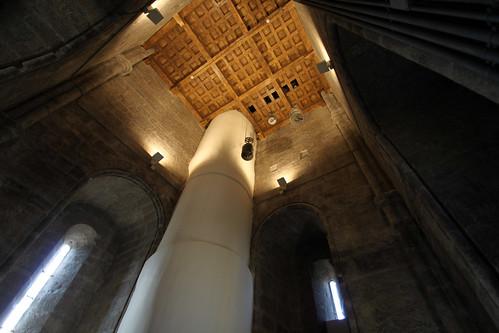 Sala de Poleas en la Torre de la Catedral de Toledo