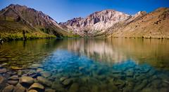 Convict Lake, Mono County, California (Sudheer.) Tags: california sunset sky water landscape nikon easternsierra convictlake tufas monocounty southtufa nikond7000