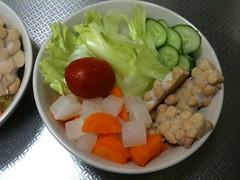 朝食サラダ(2011/9/7)