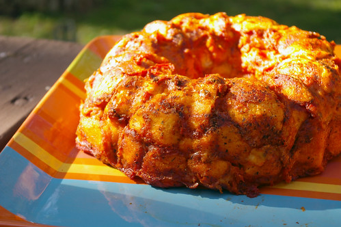 Pull-Apart Pizza Bundt