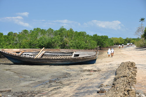 Tongoni beach