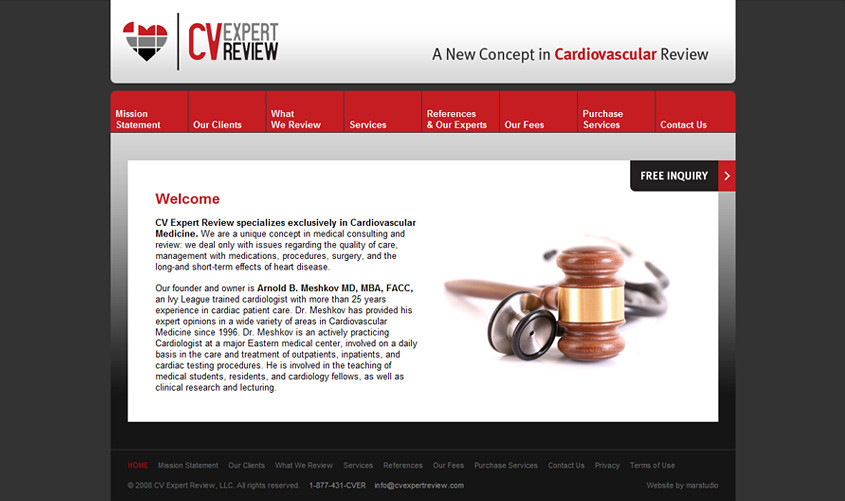 CV Expert Review Website