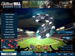 William Hill Casino Lobby