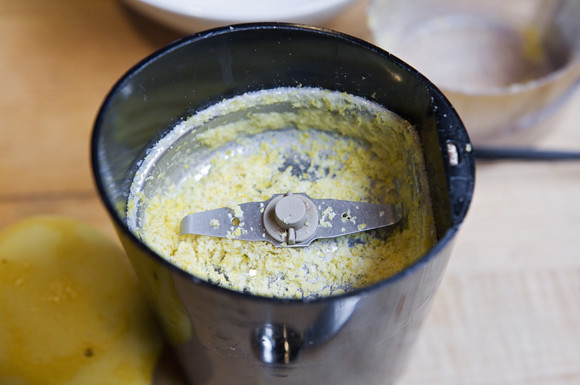 lemon zest salt