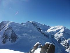 Aiguille du Midi (Sharpie314) Tags: blue sky white mountain snow france alps french italian du midi chamonix mont blanc aiguille