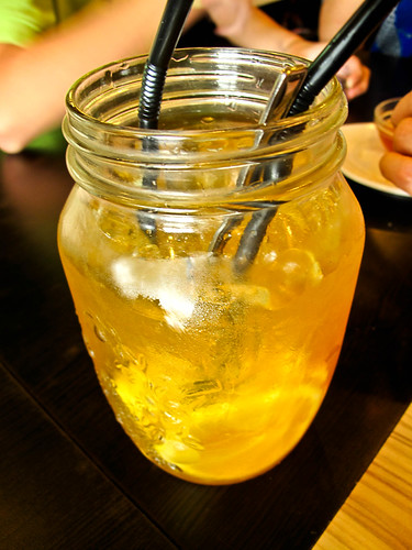 IMG_2504 绿茶柠檬冰,Ice lemon green tea