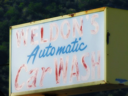 Ghostly car wash by jimsawthat