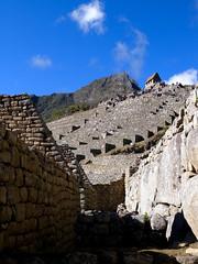 Machu Picchu (Seekdes (Mike in TO)) Tags: city cloud mountain green peru southamerica rain machu picchu inca stone forest lost rainforest forrest ruin natura andes civilization machupicchu moutain sacredvalley