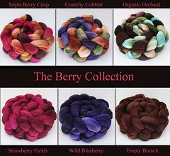 Berry Collection, 6 oz total, by Bee Mice Elf
