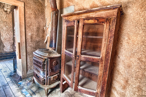 Stove and Cupboard