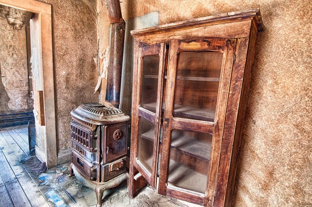 Stove and Cupboard © Harold Davis