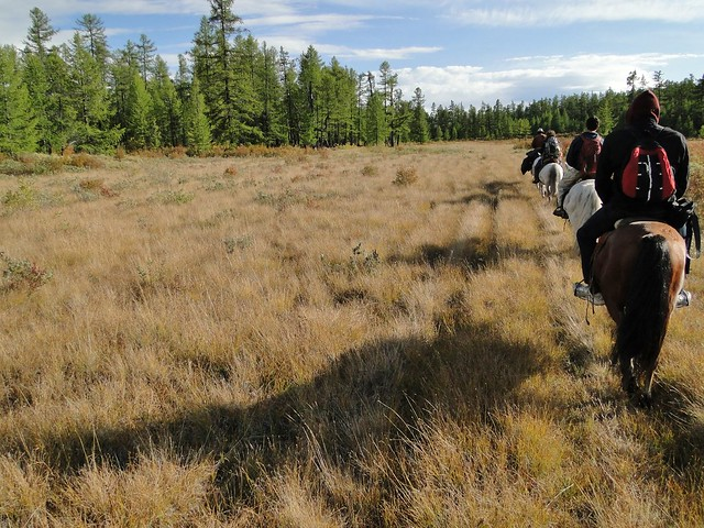 Horse Trekking in Mongolia at Khovsgol Lake