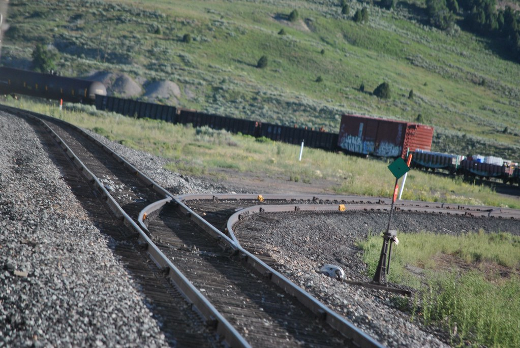 Railroad at Soldier Summit