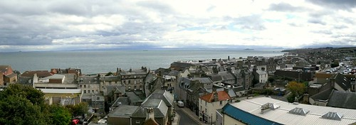 Kirkcaldy from the Old Kirk Tower