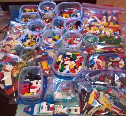 my LEGO mess