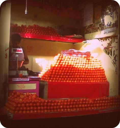 Tomato piles