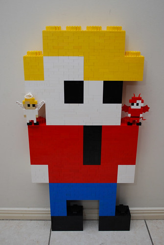 For those of you who have not seen the Lego George competition 6143201287_afef143528