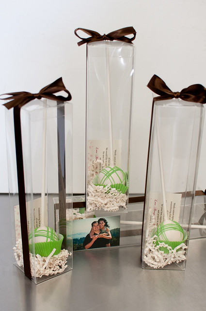 Clear Individual Cake Pop Boxes