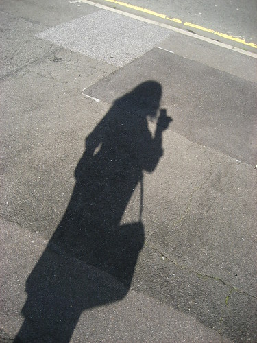 Self portrait shadow