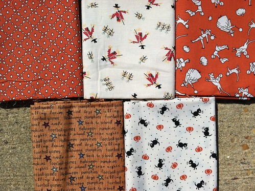 Halloween Fabric by SweetteaMom