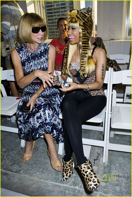 Anna Wintour, Nicki Minaj