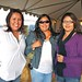 Melanie Begay, Michelle Begay both of Ganado, Arizona and Jackie King-Frank of Nachitti, New Mexico at the OPVP Hospitality Tent. The 65th Navajo Nation Fair. Window Rock, Arizona. Photo by Jared King / NNWO  This Navajo Nation Washington Office photograph is being made available only for publication by news organizations and/or for personal use printing by the subject(s) of the photograph. The photograph may not be manipulated in any way and may not be used in commercial or political materials, advertisements, emails, products, promotions that in any way suggests approval or endorsement of Navajo Nation President Ben Shelly.