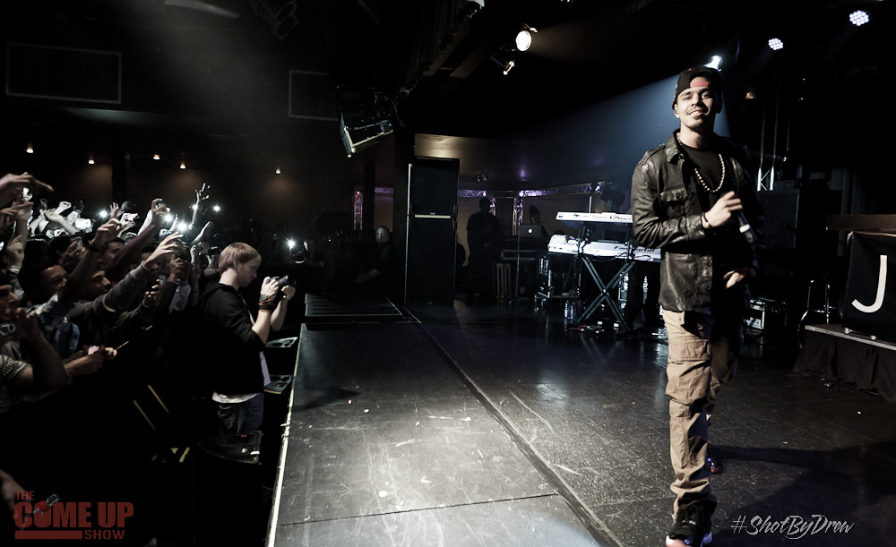 J.Cole Cole World Tour in London Music Hall