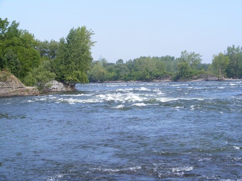 White river rapids
