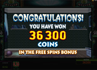 Monsters in the Closet Free Spins