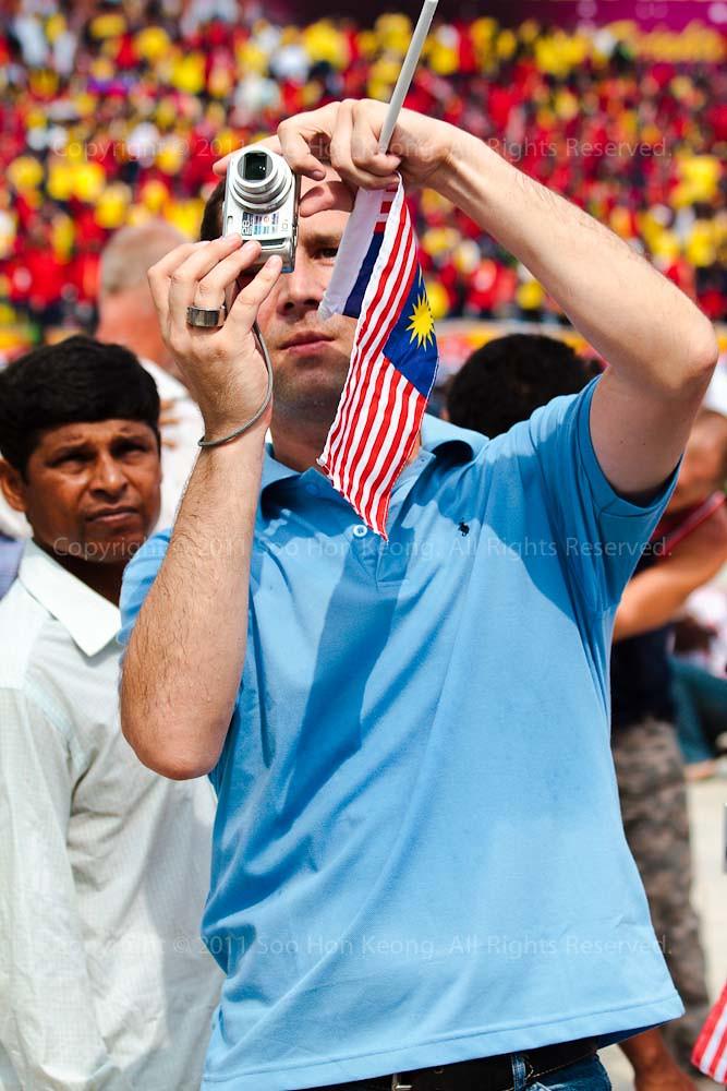 Bukan Anak Malaysia @ Malaysia Day Celebration, Dataran Merdeka, KL, Malaysia
