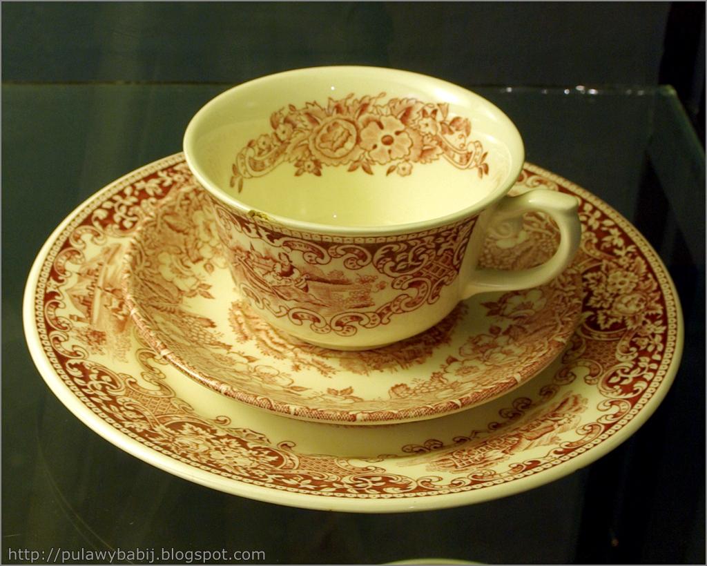 Fajans holenderski, Serwis do herbaty
