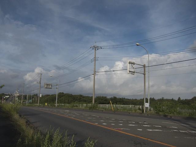秋ヶ瀬橋 雲があやしい