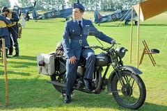 Pilot (Final Approach) Tags: england ariel uniform westsussex motorbike ww2 motorcycle spitfire pilot goodwood raf dx revival nikond200 18200mmf3556gvr afsnikkor18200mm13556ged goodwoodrevival2011 16sep11