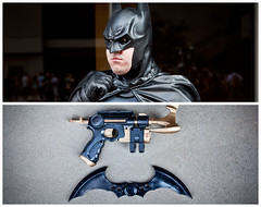 Batman Diptych (J Trav) Tags: atlanta persona diptych batman whatsinyourbag dragoncon 2011 jtrav theitemswecarry jasontravis showusthecontentsofyourbag