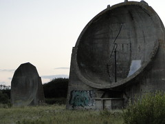 SOUND MIRRORS, NEW ROMNEY (toyboytycoon) Tags: concrete mirror 1930s sound dungeness sands romney