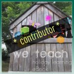 I contributed to the we teach holiday learning eBook