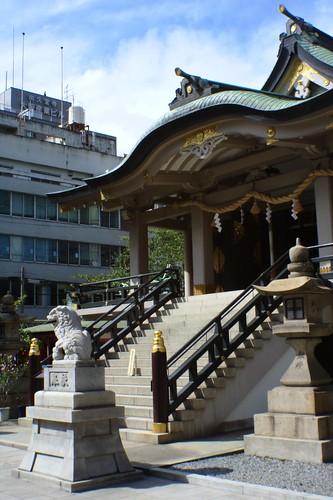難波神社 本社