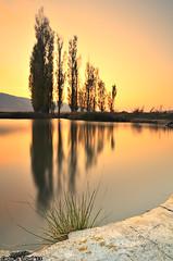 Warm sunset (Carlos J. Teruel) Tags: longexposure sunset espaa sol atardecer nikon paisaje murcia reflejo d300 2011 tokina1116 xaviersam singhraynd3revgrad leebigstopper