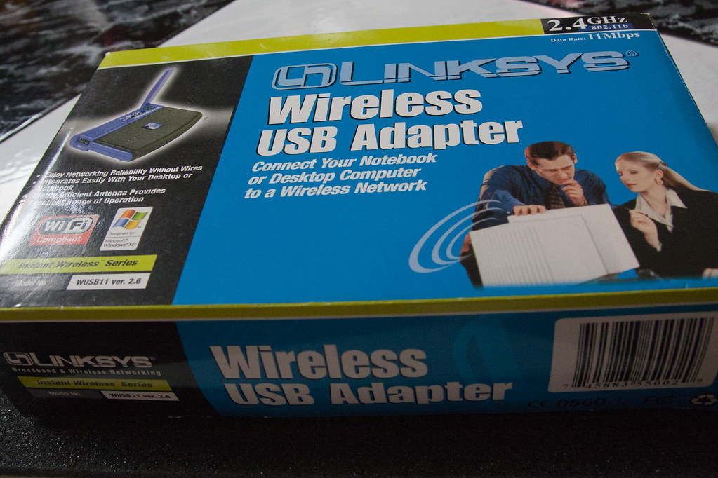 For Sale: Linksys Wireless USB Adapter $5