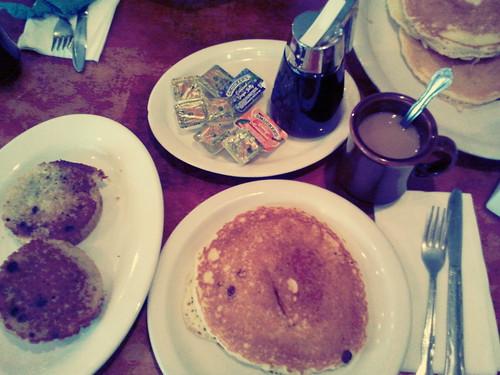 "Gritar ""Pancake"" como si fuera la gueraaa"