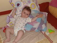 DSC02881 (luci.c) Tags: pink girl antonia bebe ioana aniversare dungi