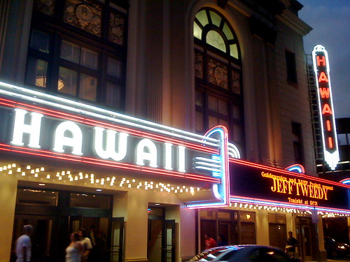 Hawaii Theatre marquee