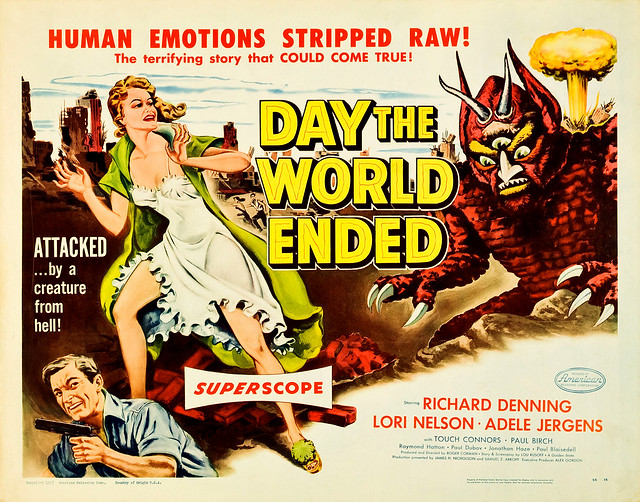 Albert Kallis - Day the World Ended (American Releasing Corp., 1956) Half Sheet