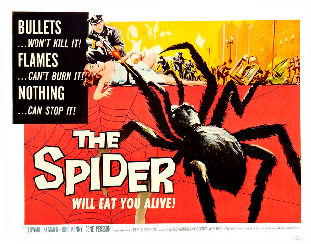 Albert Kallis - The Spider (American International, 1958) Half Sheet