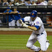 Josh Thole gets out of the way