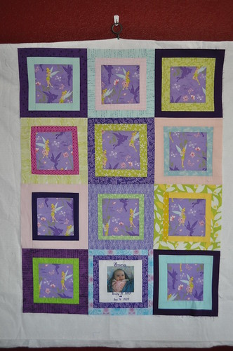 {Faith} Circle Tinkerbell Quilt ~ top