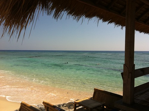 Shady view, Gili Trawangan, Lombok, Indonesia