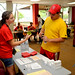 Student volunteers were at the ready throughout the weekend to distribute room keys and assist incoming students with their move.