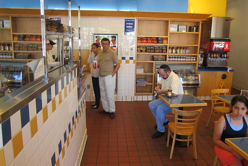Jeff's Gourmet Kosher Sausage Factory: Interior